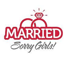 Married...Sorry Girls! by artpolitic