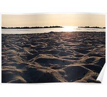 Sand dunes Poster