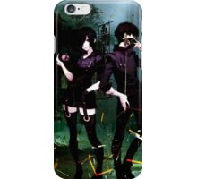 masked up and ready to go  iPhone Case/Skin