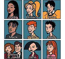 Daria Characters Photographic Print