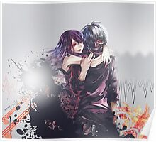 rize over kaneki's lost body Poster