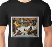 Performing Arts Posters Wm H Wests Big Minstrel Jubilee 1789 Unisex T-Shirt