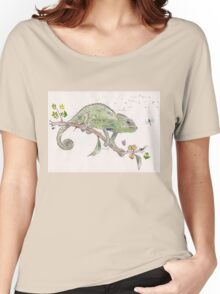 The colourful world of Chameleons Women's Relaxed Fit T-Shirt