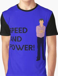 """Speed and power!"" original design Graphic T-Shirt"
