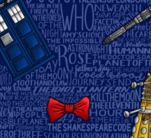 DOCTOR WHO 2 Sticker