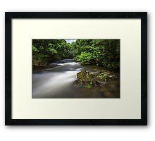The River Brathay Framed Print