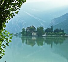 ... romantic fairytale-like fortress, Lake Toblino, Trento, Italy ~ 4 ~ by Rachel Veser