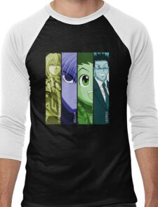 Gon, Leorio, Killua & Kurapika Anime Manga Shirt Men's Baseball ¾ T-Shirt