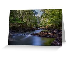 The River Brathay Greeting Card