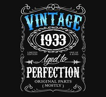 Vintage 1933 aged to perfection 83rd birthday gift for men 1933 birthday Unisex T-Shirt
