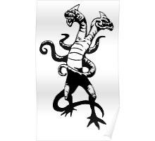 Demogorgon Stranger Things Poster