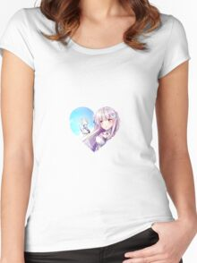 RE:Zero - Emillia and Puck Women's Fitted Scoop T-Shirt