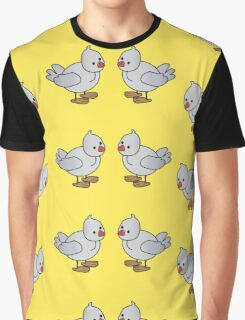 Birds background Graphic T-Shirt