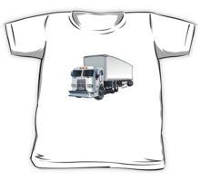 Cartoon Semi Truck Kids Tee