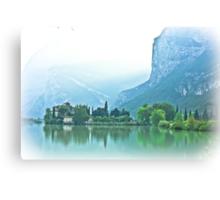 ... romantic fairytale-like fortress, Lake Toblino, Trento, Italy ~ 1 ~ Canvas Print