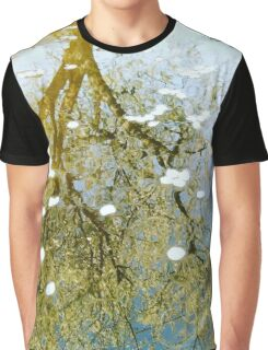 Flower Reflection Graphic T-Shirt