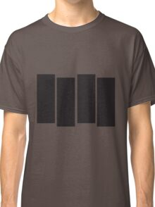 Black Flag Logo Bars Only Classic T-Shirt