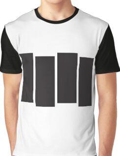 Black Flag Logo Bars Only Graphic T-Shirt