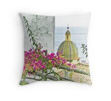 Positano, Amalfi Coast, Italy Throw Pillow