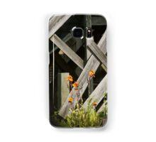 Fences at plantation Samsung Galaxy Case/Skin
