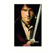 Bilbo Baggins: Thief in the Shadows Art Print