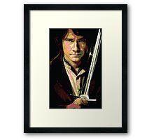 Bilbo Baggins: Thief in the Shadows Framed Print