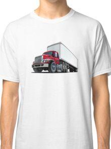 Cartoon semi truck Classic T-Shirt