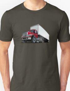 Cartoon semi truck Unisex T-Shirt