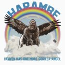 Harambe - Gorilla Angel by James Fosdike