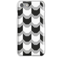Cat Tooth pattern by Lucinda Kidney iPhone Case/Skin