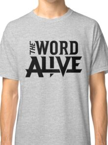 the word alive logo Classic T-Shirt