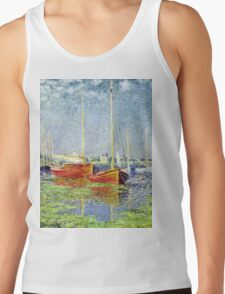 Claude Monet - Argenteuil 1882  Tank Top