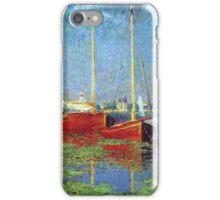 Claude Monet - Argenteuil 1875 iPhone Case/Skin