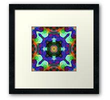 Kaleidoscope Art Random 001 Framed Print