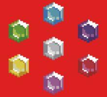 Sonic 2 Emeralds One Piece - Short Sleeve