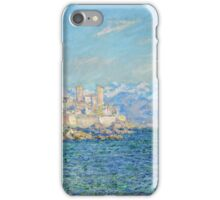 Claude Monet - Antibes Afternoon Effect iPhone Case/Skin