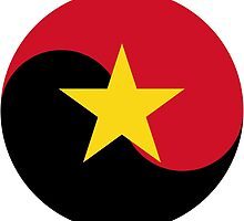 Roundel of National Air Force of Angola by abbeyz71