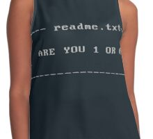 Make your choice Contrast Tank