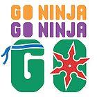 Go Ninja GO by littlebearart