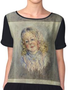 Claude Monet - Andre Lauvray Chiffon Top