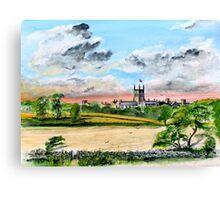 A Beautiful Corner of England Canvas Print