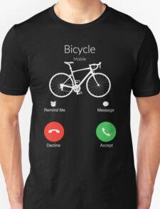 My bicycle is calling t-shirt, hoodies, tank top Unisex T-Shirt
