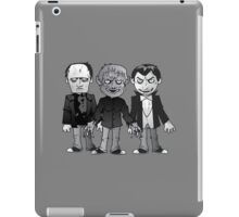 Classic Horror pals iPad Case/Skin
