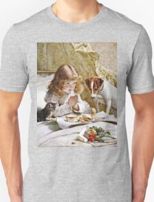 Charles Burton Barber - Suspense  Unisex T-Shirt