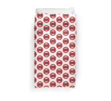Stop Greed Duvet Cover