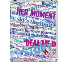 Hillary Clinton Nomination Headline Collage iPad Case/Skin