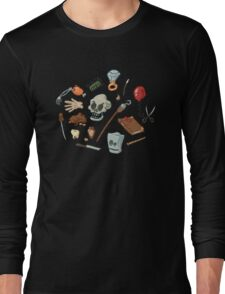 The Curse of Monkey Island Inventory (Special Edition) Long Sleeve T-Shirt