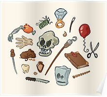 The Curse of Monkey Island Inventory (Special Edition) Poster