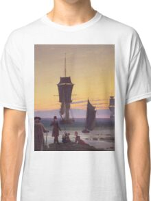 Caspar David Friedrich - The Stages Of Life  Classic T-Shirt
