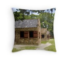 Plantation Sheds Throw Pillow